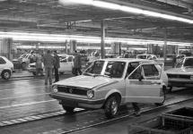 Produktion VW Golf © Bundesarchiv B 145 Bild-F054863-0012